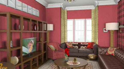 Jambo'sLivingRoom3 - Classic - Living room  - by camilla_saurus