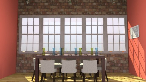 Eat! :) - Modern - Dining room - by popso3144