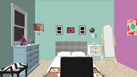 Future Bedroon - Vintage - Bedroom  - by deleted_1495000724_Shawrlette
