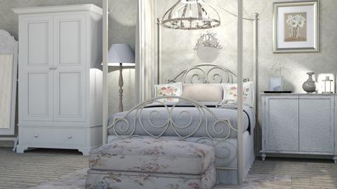 Vintage Love - Bedroom - by Carolina_meee