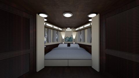 Yacht Cabin - Bedroom - by SammyJPili