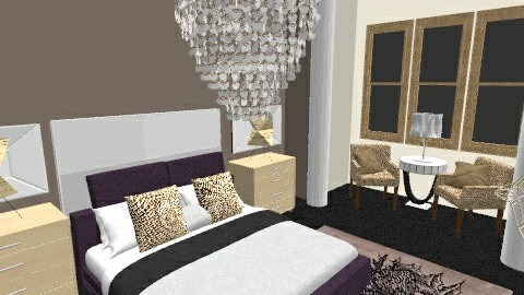 Rustic Glam - Eclectic - Bedroom  - by Sara D