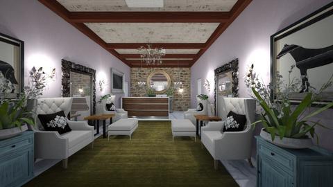 Hotel_Lounge_Reception_ - Modern - Living room  - by Nikos Tsokos