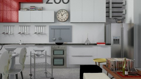Cool - Eclectic - Kitchen  - by du321