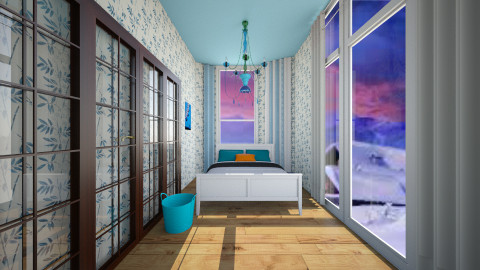 blue room - by elen demiryan
