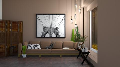 Travel Living Room - Living room  - by UnicornSprinkle