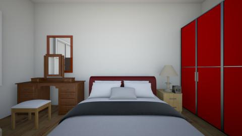phong ngu cua minh dang5 - Vintage - Bedroom  - by shopkien