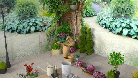 Garden bliss - Rustic - Garden  - by HazelMP