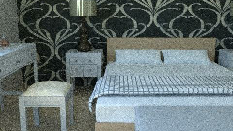 design21 - Glamour - Bedroom  - by blondina14