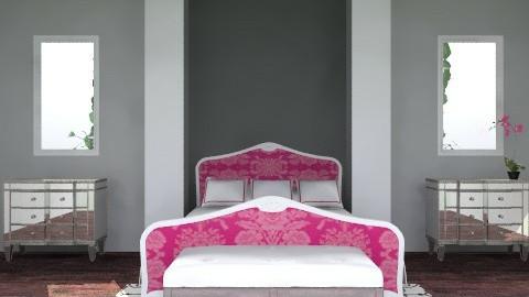 pink bedroom - Glamour - Bedroom - by shotzydog