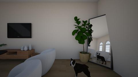 tayas room w dog - Living room  - by tayaamundson