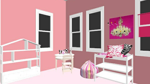 Paris Room - Glamour - Kids room  - by Emilydaytowiexx
