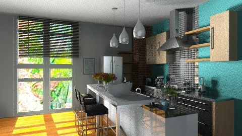 Copy from another copy  - Eclectic - Kitchen  - by Reported