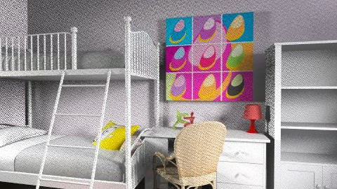 Lia_Itay_89 - Classic - Kids room  - by noga boyarsky