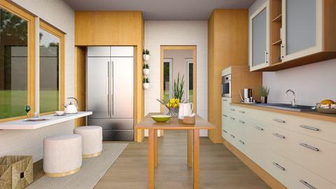 Flat 24 Kitchen Remix - Modern - Kitchen  - by Sally Simpson