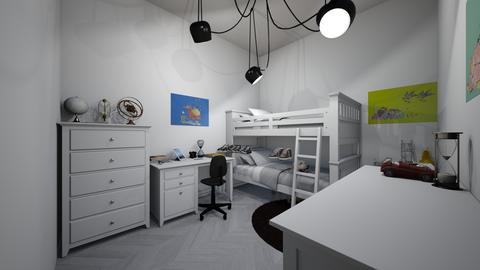bunk bedroom design idea  - Modern - Kids room  - by jade1111