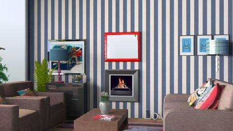 FunkyLiving. - Retro - Living room  - by yasemin04