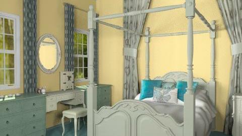 Serene Bedroom - Classic - Bedroom - by kflove1202