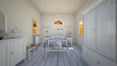Sweet Farmhouse - Country - Bedroom  - by Ellarilynn