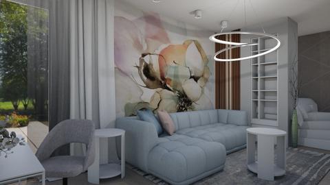 flower in livingroom - by szaboi