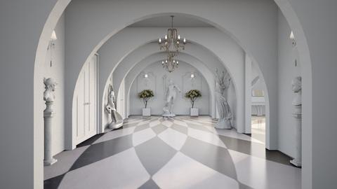 Bridgerton Hallway - by diegobbf