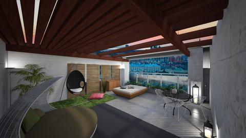 rooftop - Modern - Garden  - by Avat01
