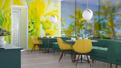 la restaurant - by Rebel Peony