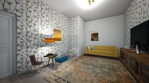 seyahat  - Living room  - by selin demiray