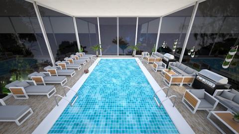 Pool - Modern - Garden  - by kellynazha