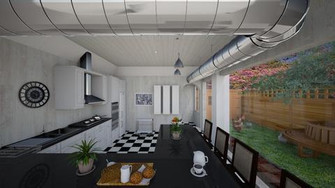 Modern Farmhouse Kitchen - Kitchen  - by Tupiniquim
