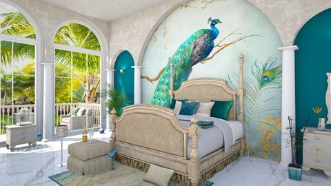 Peacock - Bedroom  - by ArtHousedeco