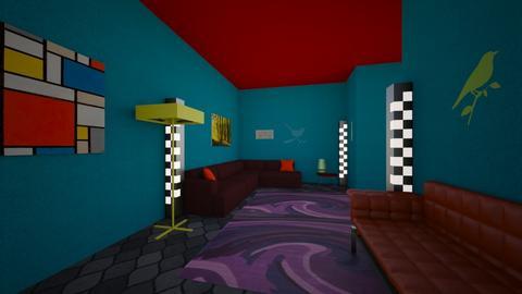 Kea Mountain Bird - Living room  - by RWhite23
