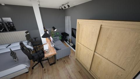 NEWroomP2 - Minimal - Bedroom  - by pashewon