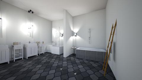 Modern bath 2 - Modern - Bathroom  - by LeoTheLop