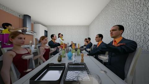 uyyy78 - Kitchen - by James Bryant
