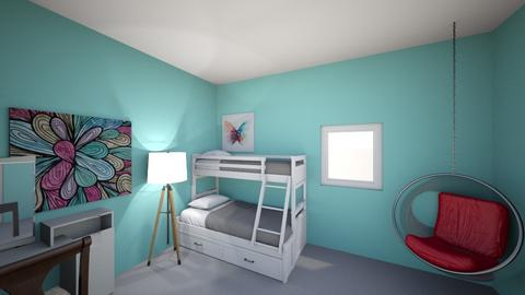 animihi bedroom - Kids room  - by detective27a