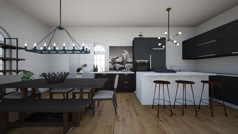kiley - Kitchen  - by khomiester26