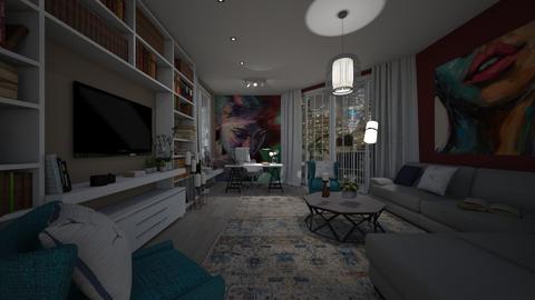 face - Living room - by Grigoria Popli