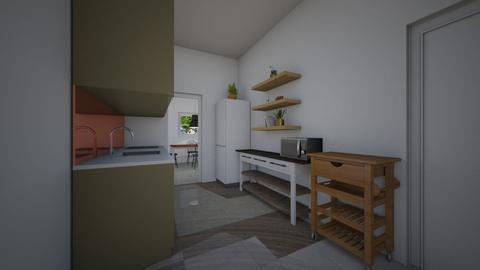 house ramat chen 21 - Living room  - by TamarMatalon