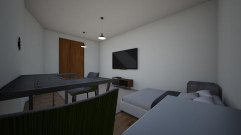 cuarto para una pareja - Bedroom  - by naruto2006