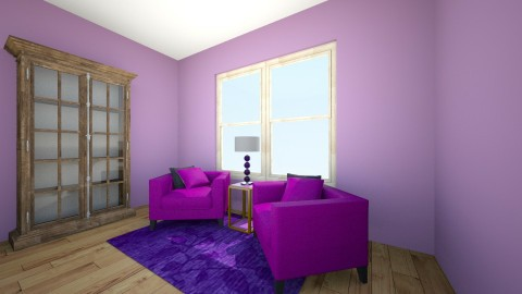 Purple Room - by Becca Scott