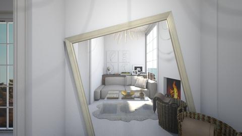 Casa164LivingRoom - Rustic - Living room  - by nickynunes