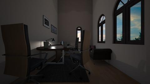Mansion 6 - Office  - by Earvette