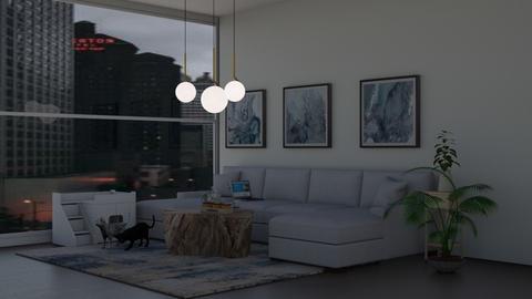 wow2 - Modern - Living room  - by waad702
