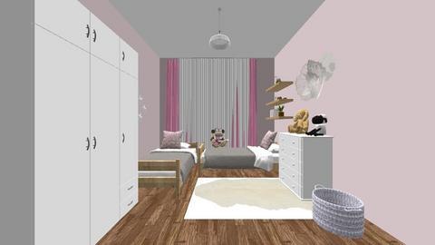 MARIA girls - Kids room  - by victoriaorrhov