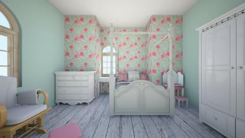 Garden Bedroom - Rustic - Bedroom  - by Pickles043