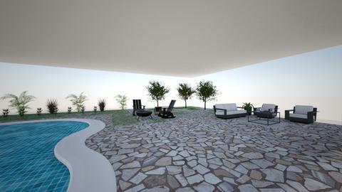 Outdoor Living Area - Garden - by Emmaporter