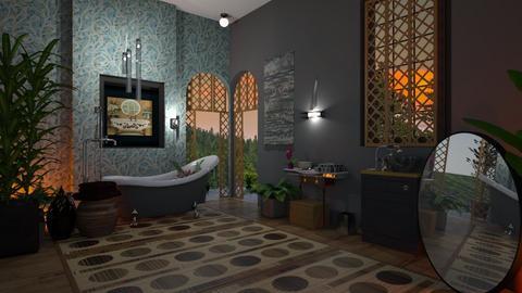 B sunset bath - Modern - Bathroom  - by Sue Bonstra