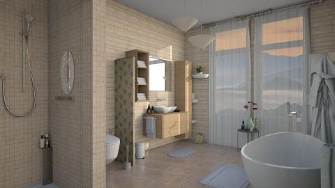 M_P C - Bathroom  - by milyca8