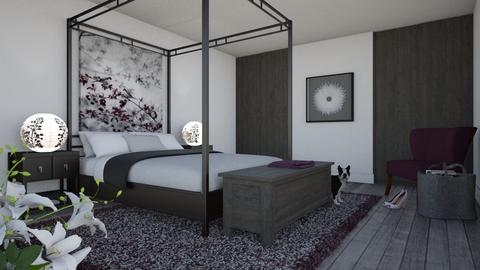 IP Diego - Eclectic - Bedroom  - by Theadora